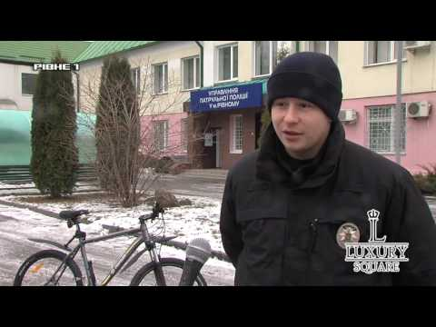 Рівненським патрульним привезли велосипеди [ВІДЕО]