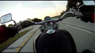 10. 2002 Honda Shadow VLX 600cc - First Ride
