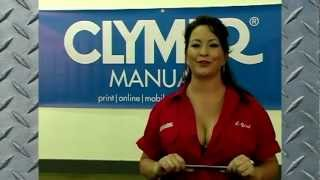 10. Clymer Manuals Honda GL1200 Gold Wing Goldwing Shop Service Repair Maintenance Manual Video
