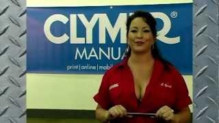 5. Clymer Manuals Honda GL1200 Gold Wing Goldwing Shop Service Repair Maintenance Manual Video
