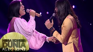 Romantisnya Regina Feat Virzha dengan lagu 'Biar Menjadi Kenangan' [Mega Konser Dunia] [14 des 2015] Video