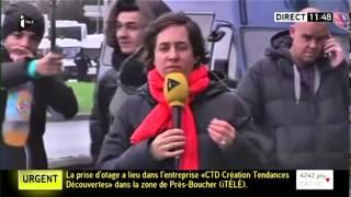 Scène surréaliste en direct sur ITélé !! #JeSuisCharlie