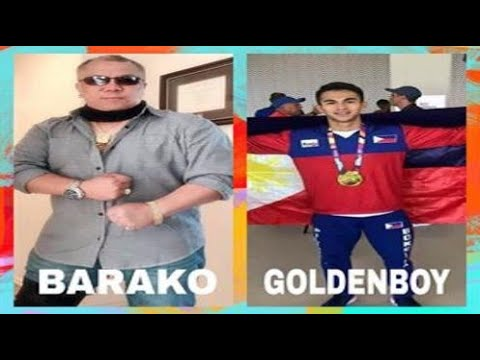 "BARAKO DAVID ILAGAN INTERVIEW WITH FORMER NATIONAL GOLD MEDALIST BOXER CRIZTIAN ""GoldenBoy"" LAURENTE"