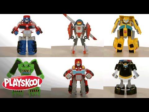 PLAYSKOOL Heroes Transformers Rescue Bots Video