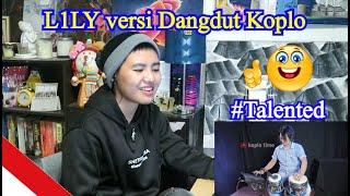 Video L1LY versi Dangdut Koplo (REACTION) MP3, 3GP, MP4, WEBM, AVI, FLV Juni 2019