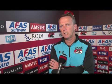 Van den Brom over AZ - FC Twente