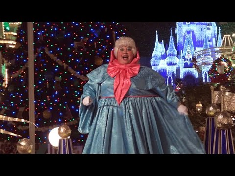 Mickey's Once Upon A Christmastime Parade - 2015 - Disney World - Magic Kingdom Holiday