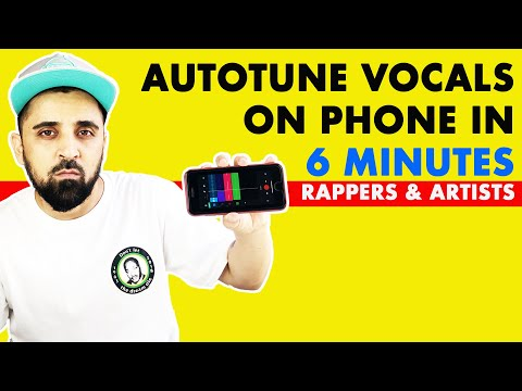 How To Autotune Vocals On Phone | Android & iPhone Free App | In Hindi