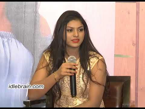 Heroine Aradhya (Anjali sister) Press Meet