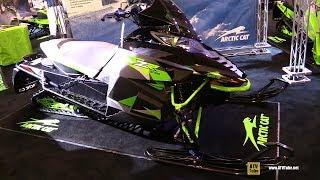3. 2016 Arctic Cat ZR 3000 Sled - Walkaround - 2017 Toronto Snowmobile ATV Show