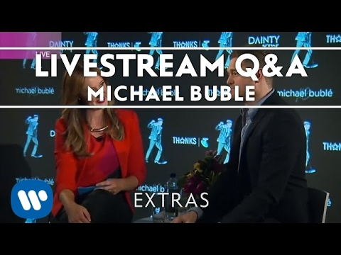 Michael Bublé - Telstra Thanks Livestream Q&A [EXTRAS]