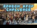 RANDOM KPOP CHALLENGE @MangaAlhaurin [COMPILATION OF OUR 2016 w/ BHowl]