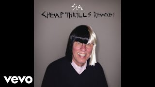 "Get Sia's ""Cheap Thrills (Remixes)"" on iTunes: http://smarturl.it/CheapThrillsRMXS?IQid=yt Stream on Spotify: http://smarturl.it/spCheapThrillsRMXS?IQid=yt Amazon: http://smarturl.it/CheapThrillsRMXSam?IQid=yt Google Play: http://smarturl.it/CheapThrillsRMXSgp?IQid=ytGet ""Cheap Thrills"" on Sia's This Is Acting (Deluxe Edition) including 7 new tracks out now! iTunes - http://smarturl.it/ThisIsActingDeluxe?IQid=ytAmazon - http://smarturl.it/ThisIsActingDeluxea?IQid=ytGoogle Play - http://smarturl.it/ThisIsActingDeluxegp?IQid=ytTarget - http://smarturl.it/TIADLXTarget?IQid=ytFYE - http://smarturl.it/TIADLXFYE?IQid=ytStream it on:Spotify - http://smarturl.it/ThisIsActingDeluxesp?IQid=ytApple Music - http://smarturl.it/ThisIsActingDeluxeam?IQid=ytCatch Sia this fall on the Nostalgic For The Present Tour w/ Miguel & AlunaGeorge. http://siamusic.net/tourFollow Team Sia's Ear Candy on Spotify http://spoti.fi/1LMlB7XSubscribe to Sia on YouTube: http://bit.ly/1sudphSWebsite: http://siamusic.net Twitter: http://twitter.com/siaInstagram: http://instagram.com/SiaThisIsActingFacebook: http://facebook.com/siamusicSpotify: http://spoti.fi/1fKpbS0(C) 2016 Monkey Puzzle Records, under exclusive license to RCA Records."