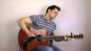 Let It Go - (Frozen) - Acoustic Fingerstyle Interpretation Video