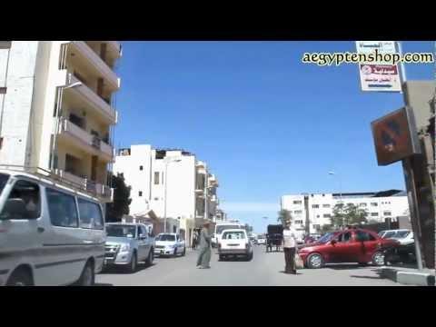 Der blanke Wahnsinn - Autofahrt in Ägypten - Luxor