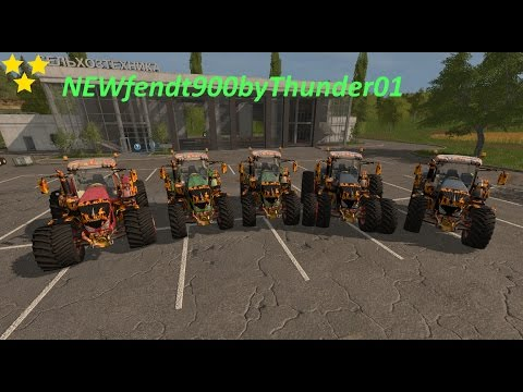 NEW Fendt 900 by Thunder01 v2.0