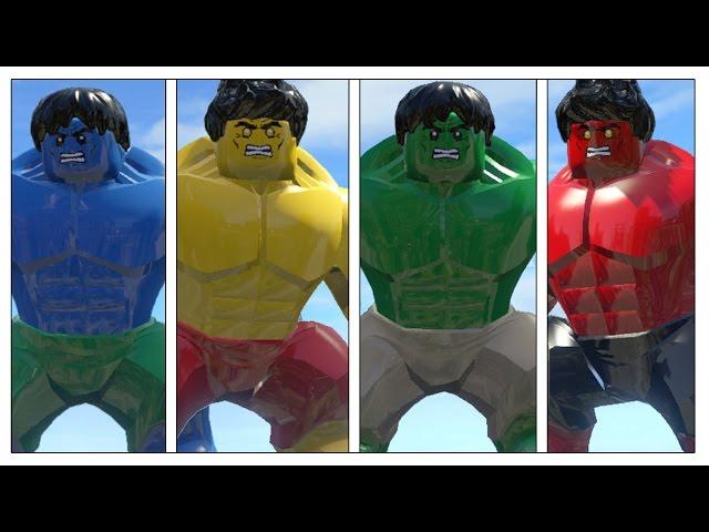 Lego Hulk Transformation Game