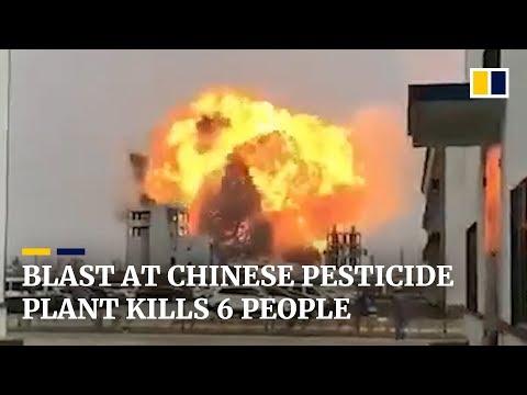 Video - Αυξήθηκε ο αριθμός των νεκρών από την έκρηξη σε εργοστάσιο στην Κίνα