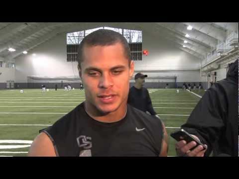 Jordan Poyer Post-Practice Interview 11/12/2012 video.
