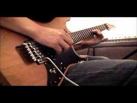 Air on Jim Criver Custom Guitar-Electric Rock Guitar Solo