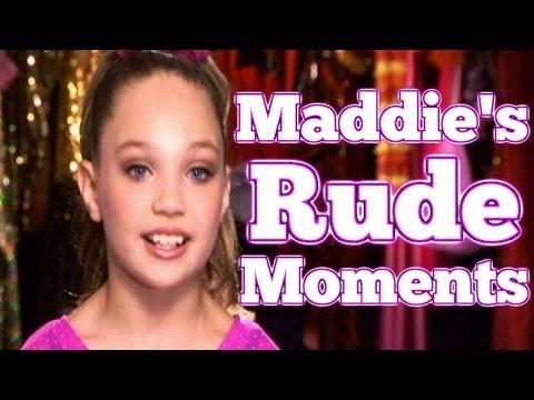 Dance Moms: Maddie Ziegler's RUDE Moments (видео)