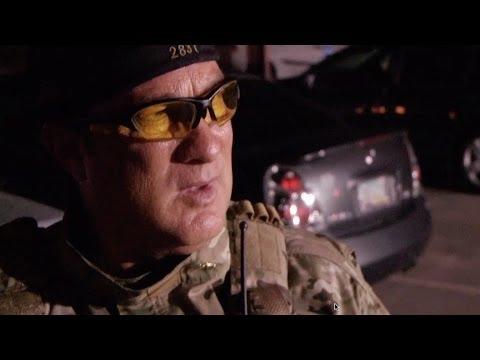 lawman - A guy tells Steven Seagal to