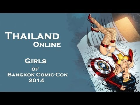 Dziewczyny z Comic Con 2014 Bangkok