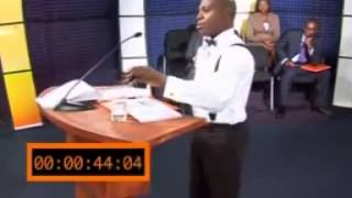 Debaters TV Reality Show (Fola Daniel) Nigeria's Population {Created By Mo Abudu, GT Bank}