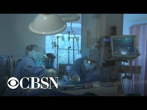Frontline doctor talks about the state of COVID-19 in the U.S.