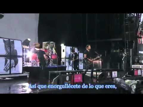 Rise Against - Blood-Red, White & Blue (Sub Español Live at Rock am Ring 2010)