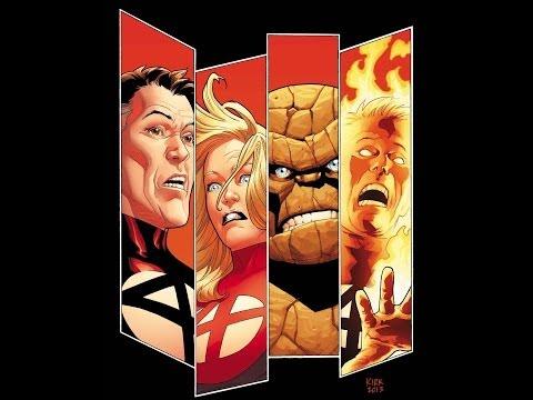 0 Comic Book Review: Fantastic Four #1