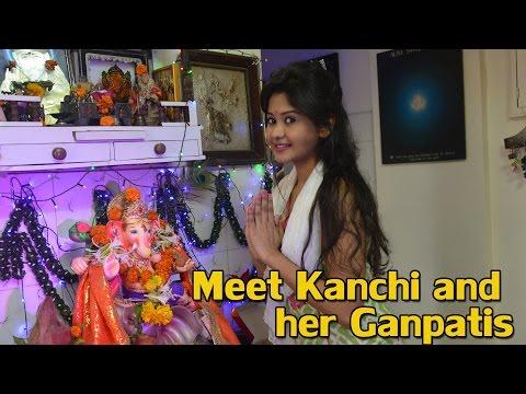 #GaneshChaturthi Spl: Meet Kanchi and her Ganpatis
