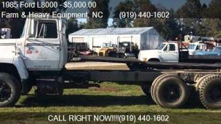 7. 1985 Ford L8000 Cab and Chassis for sale in Farm and Heavy E