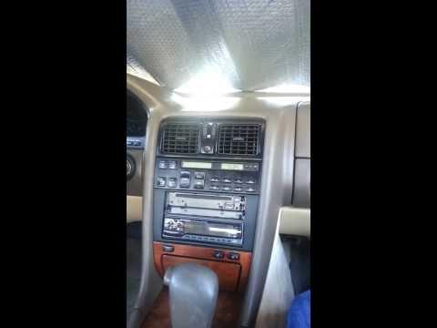 1993-1994 Lexus LS400 Cabin Air Filter Replacement