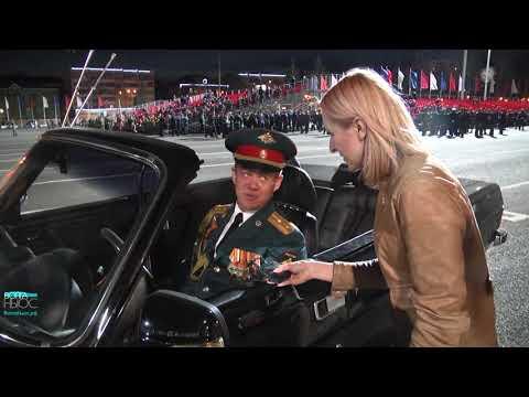 На пл. Куйбышева прошла первая репетиция парада Победы