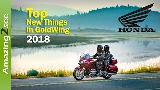 5. Honda GoldWing 2018 Full Review l new accessories & New things