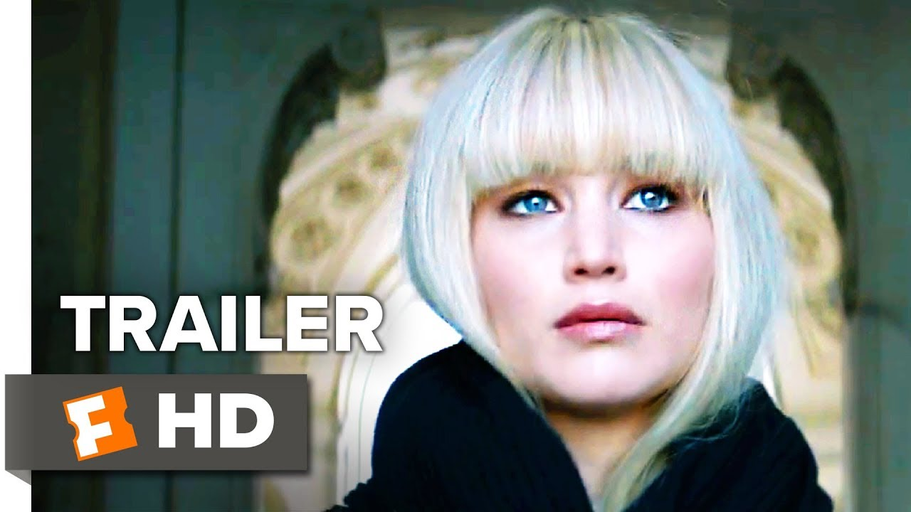Trained Seductress Jennifer Lawrence falls for Joel Edgerton in Spy Thriller 'Red Sparrow' (Trailer)