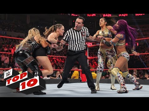 Top 10 Raw moments: WWE Top 10, January 21, 2019