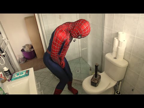 Thor Pranks Spiderman