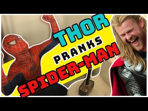 如果蜘蛛人遭到雷神的惡搞就會像這樣陷入各種窘境,他最後的「大絕招解法」太意想不到了!