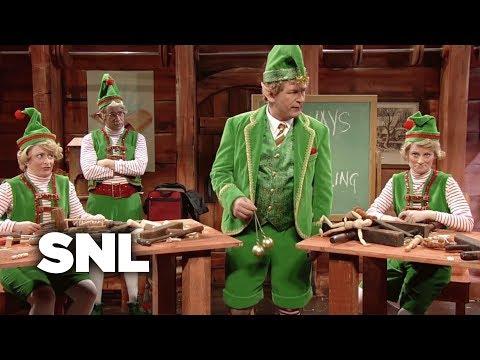 Glengarry Glen Christmas: Elf Motivation - SNL (видео)