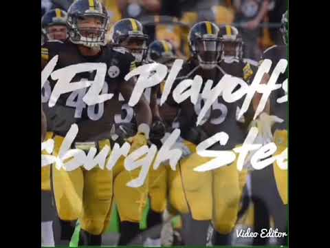 Pittsburgh Steelers playoff hype GO STEELERS