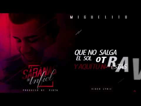 Sabanas De Infiel Lyric Video