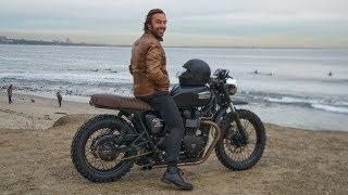 7. CUSTOMIZING MY TRIUMPH BONNEVILLE MOTORCYCLE | BRITISH CUSTOMS MOTO CONVERSION