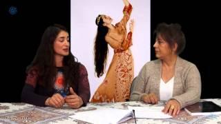 Shahrzad Khorsandi interview at Payamjavan TV مصاحبه با شهرزاد خرسندی در تلویزیون پیام جوان