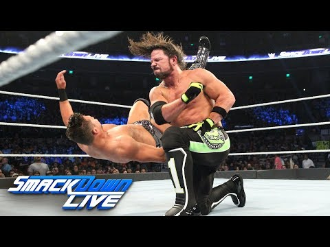 AJ Styles vs. The Miz: SmackDown LIVE, Dec. 4, 2018_Sport videók