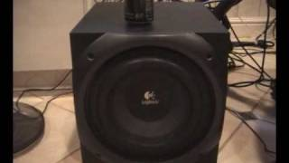 Logitech Z-5500 THX Bass Tests