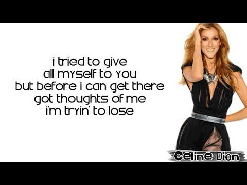 Celine Dion - Imperfections (Lyrics)