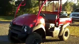 7. Kawasaki Mule 610 Gainesville Fl 1-866-371-2255 near Lake City Starke Ocala FL