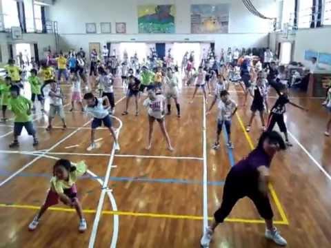 子ども10000人ヨサコイ 練習風景